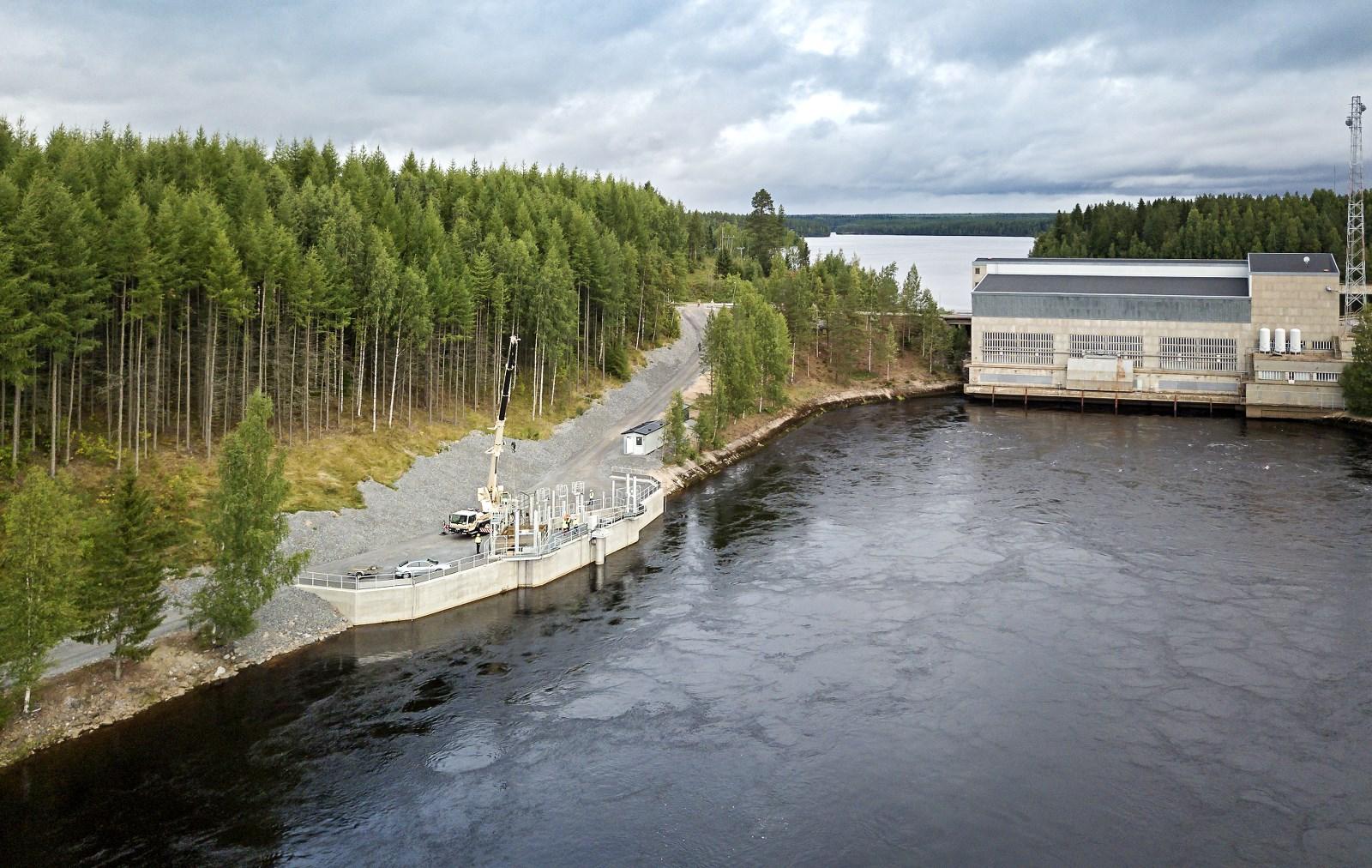 Montta hydro power plant