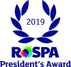 RoSPA President's Award