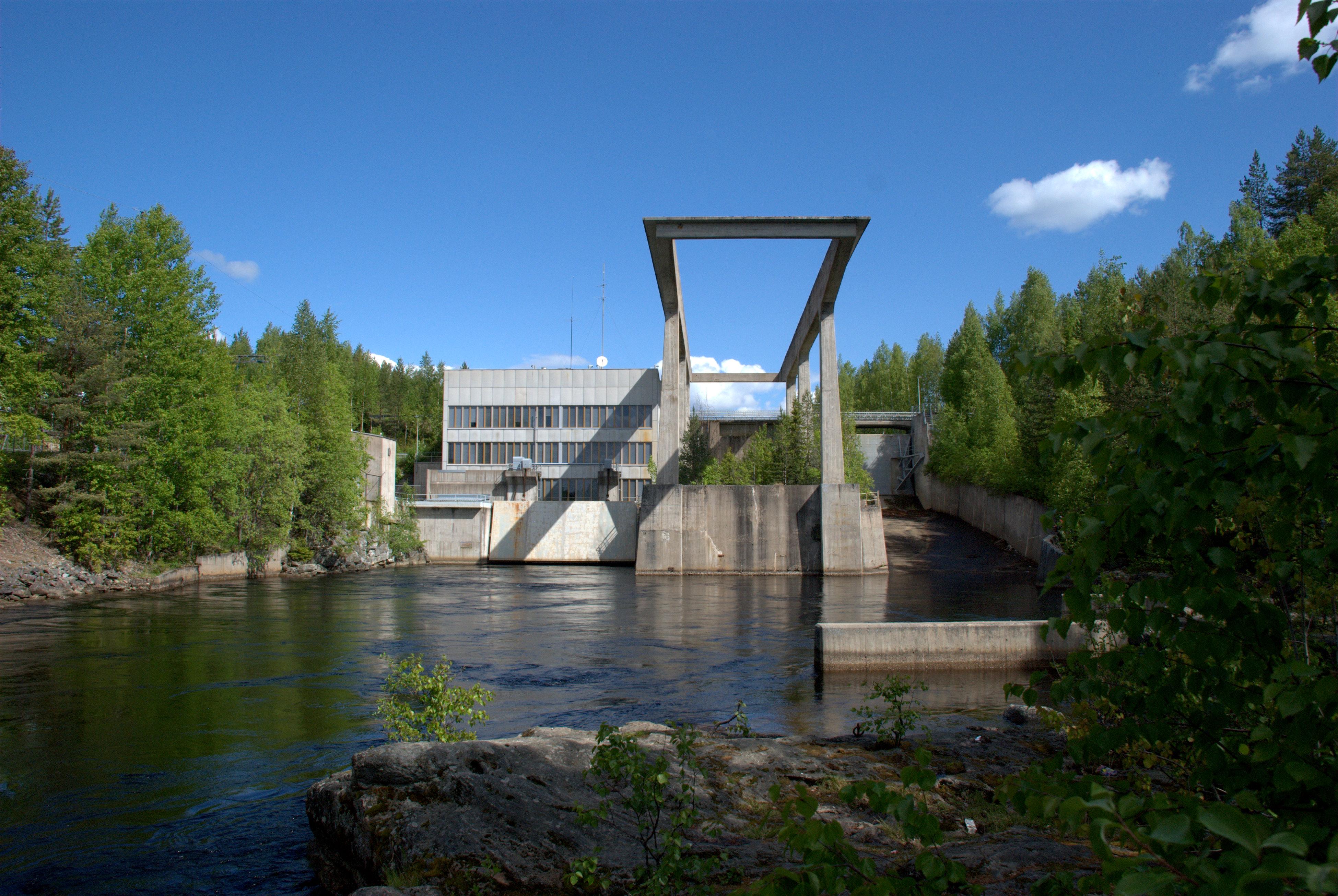 Ämmä hydro power plant