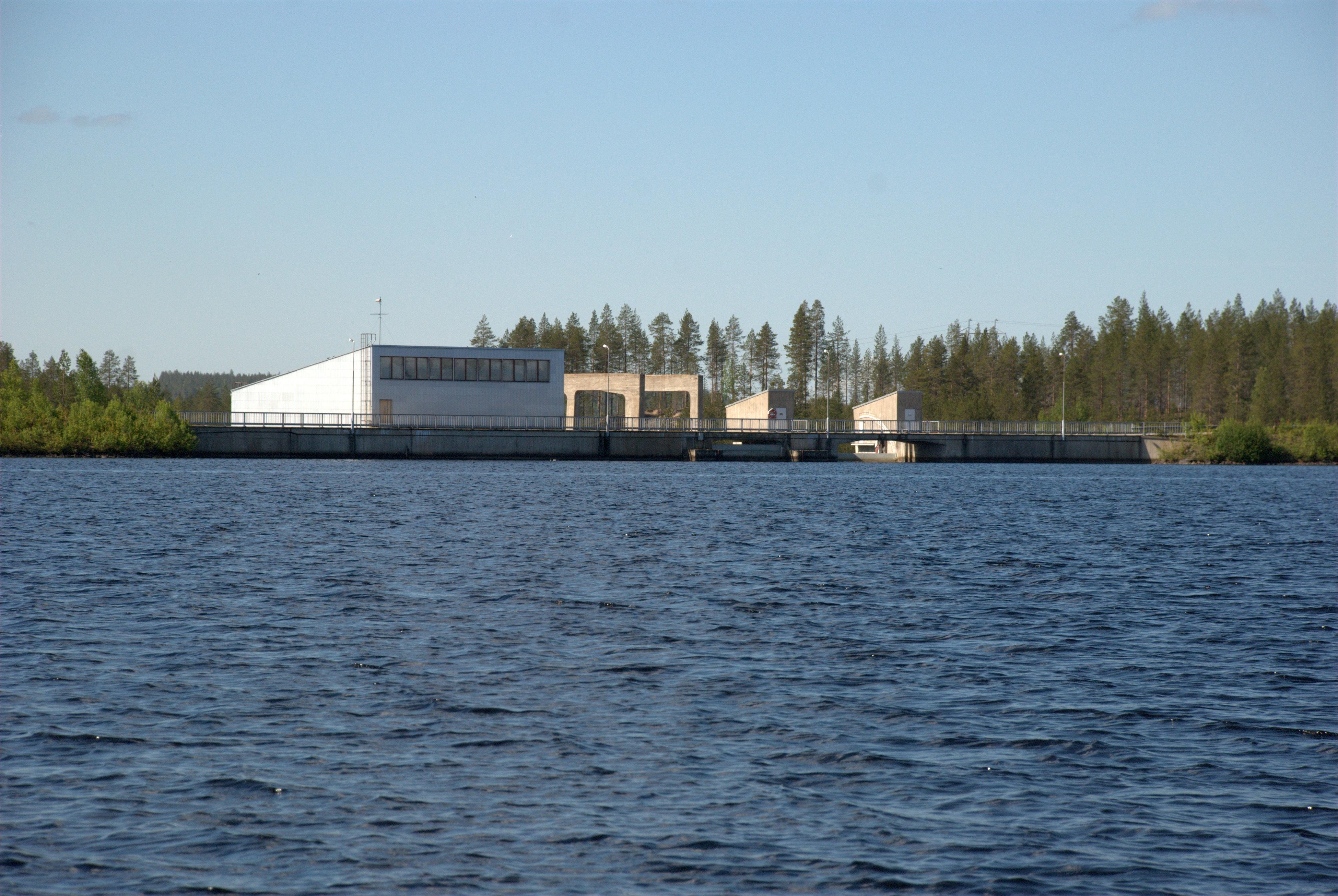 Aittokoski hydro power plant