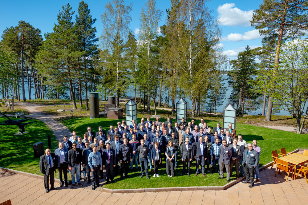 Apros User Group Seminar 2019 group picture 1