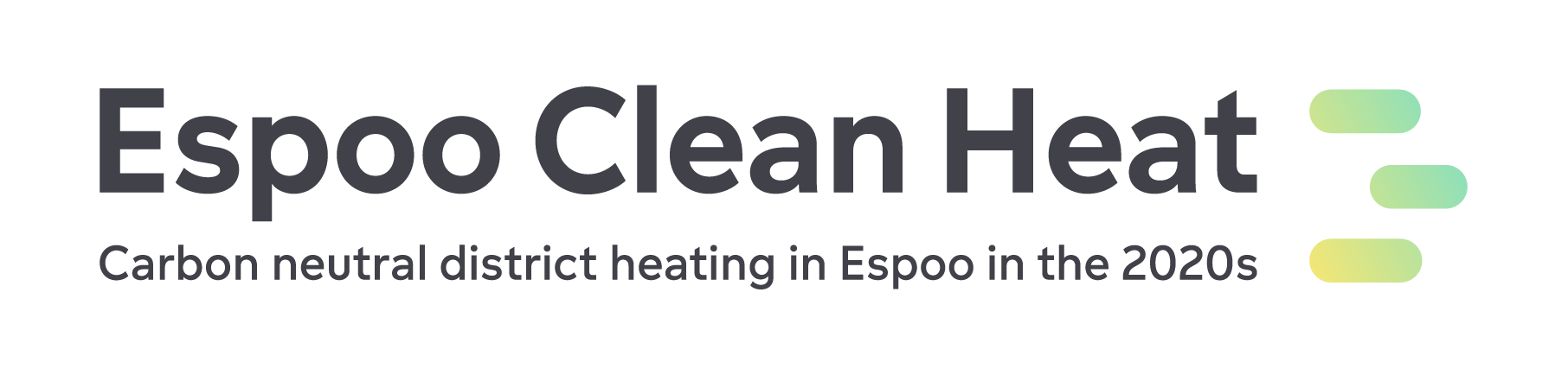 The logo of Espoo Clean Heat project