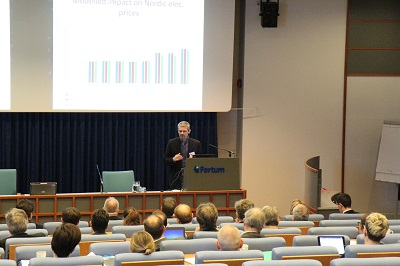 One of the speakers was Hans Henrik Lindboe