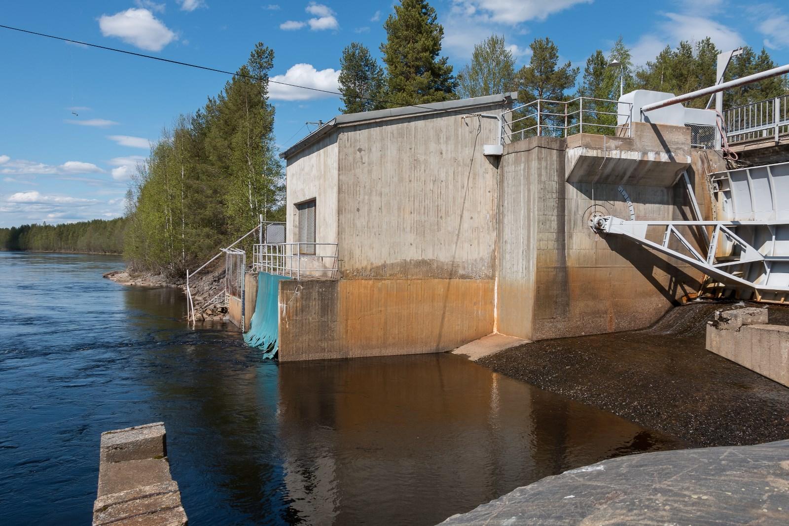 Ala-Utos hydro power plant