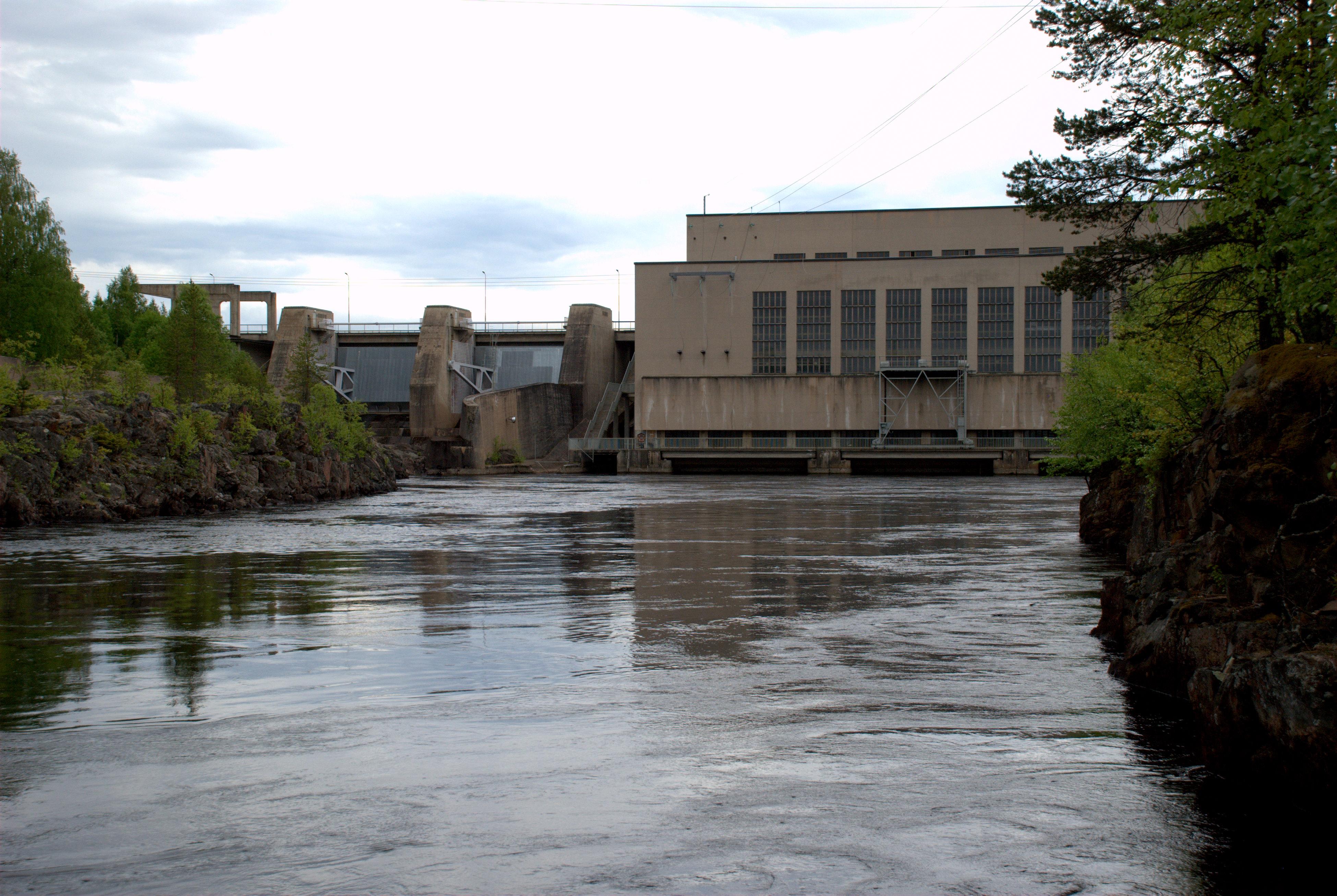 Jylhämä hydro power plant