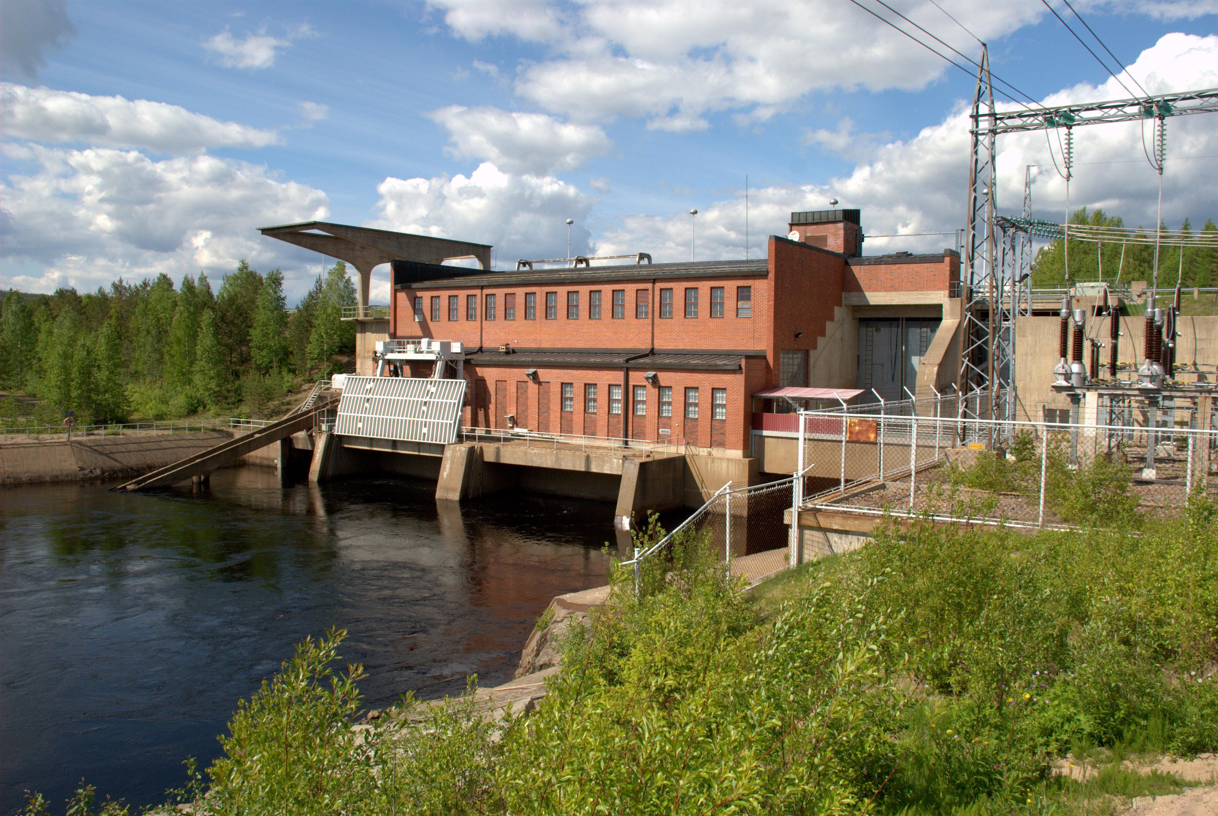 Leppikoski hydro power plant