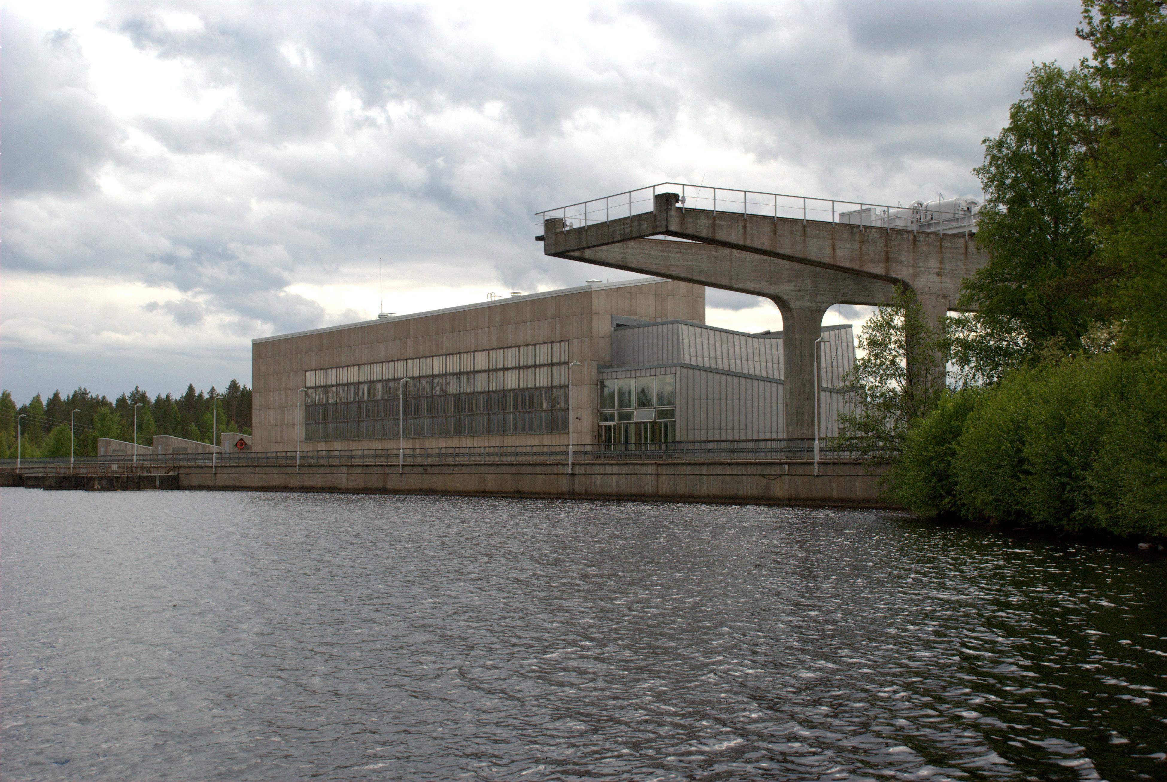 Nuojua hydro power plant
