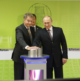 Niinistö and Putin pushed the button