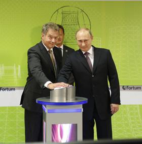 Niinistö and Putin pushed the button