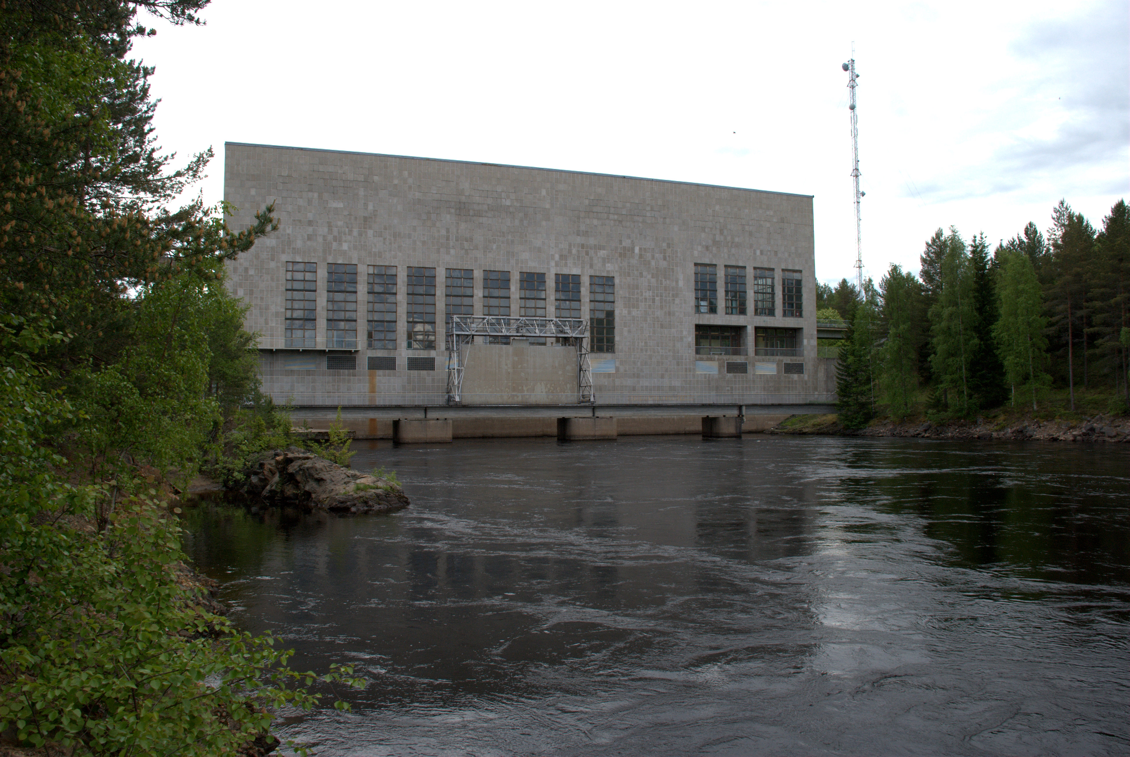Pälli hydro power plant