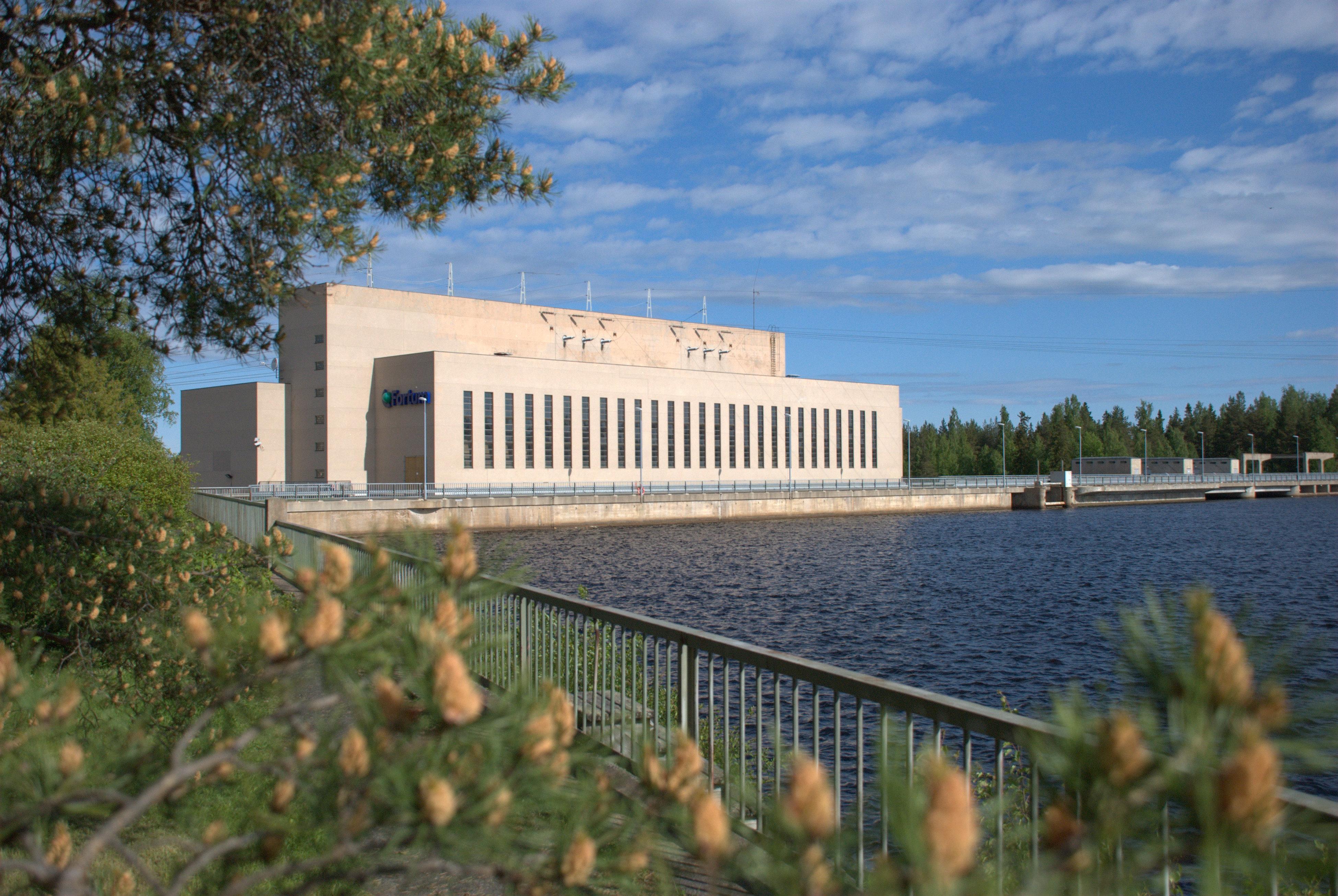 Pyhäkoski hydro power plant