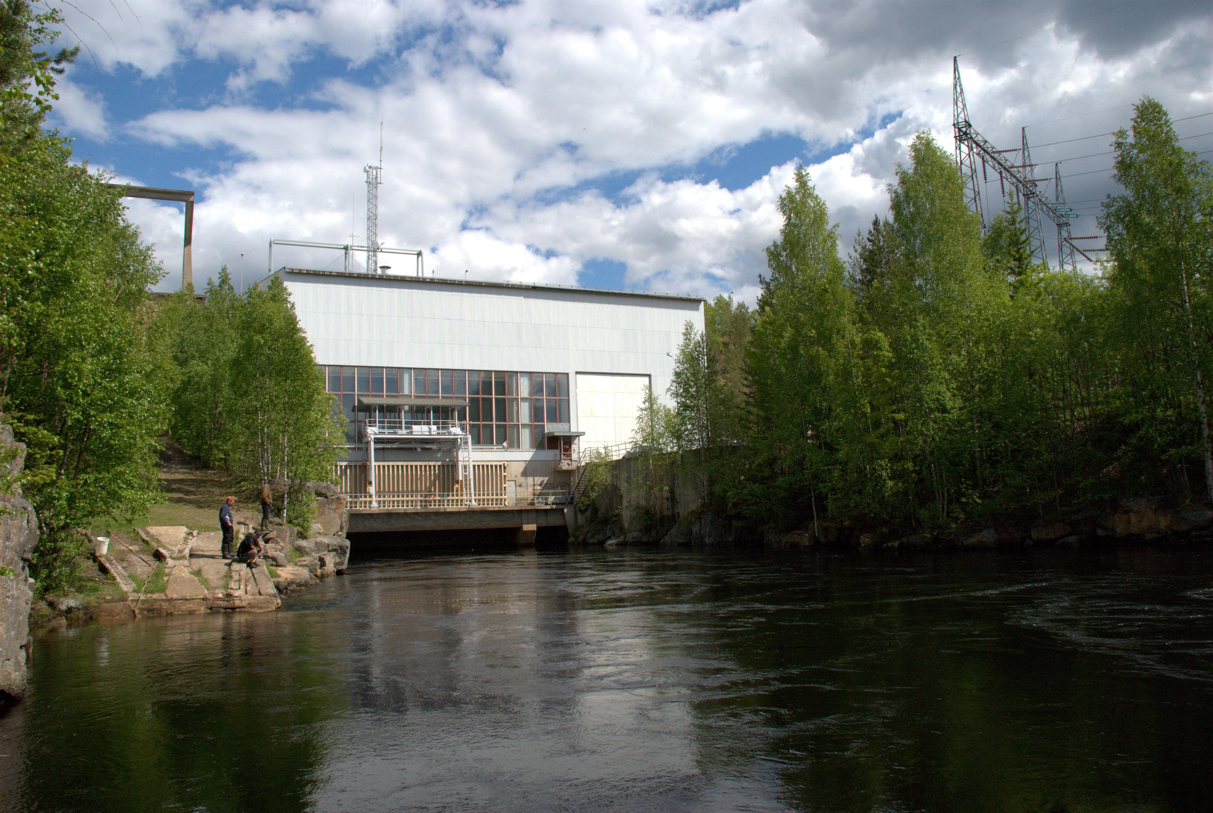 Seitenoikea hydro power plant