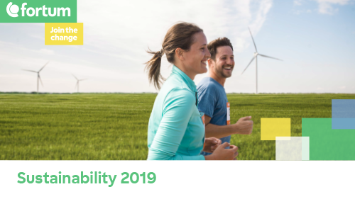 Sustainability cover 2019