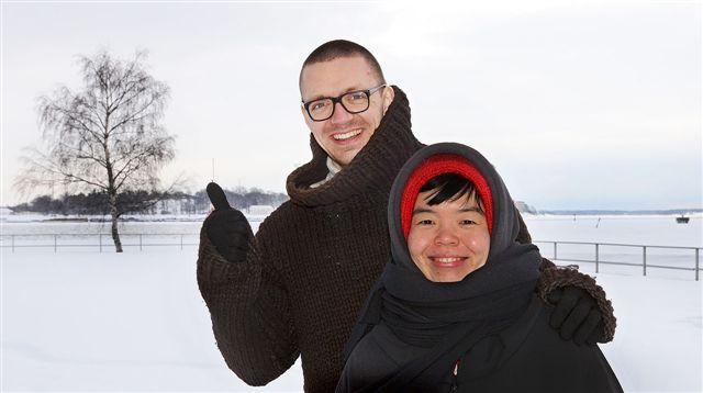 Tuomas Toivonen and Nene Tsuboi
