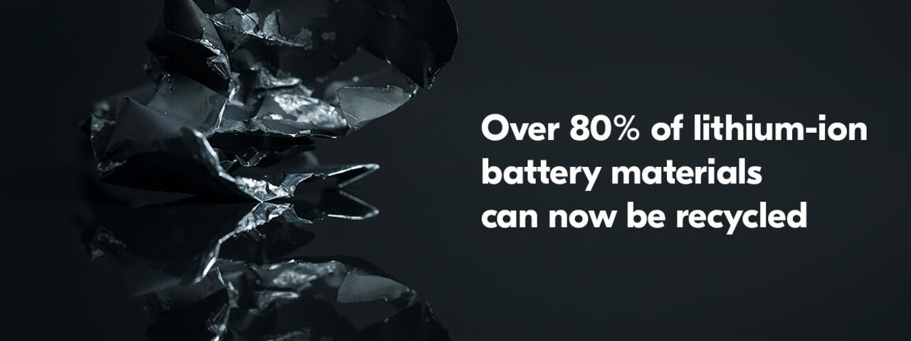 Lithium-ion Battery Recycling Solution | Fortum