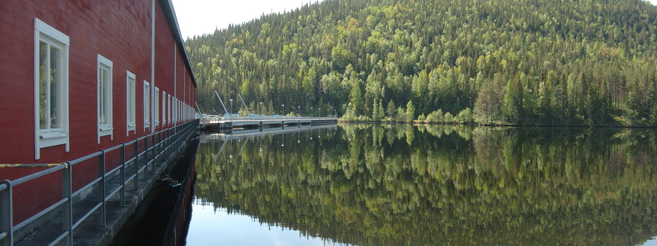 Our Hydro Plants In Indalsälven Fortum