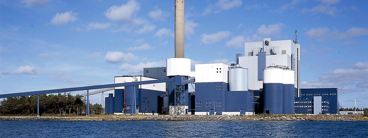 meri pori power plant in finland fortum