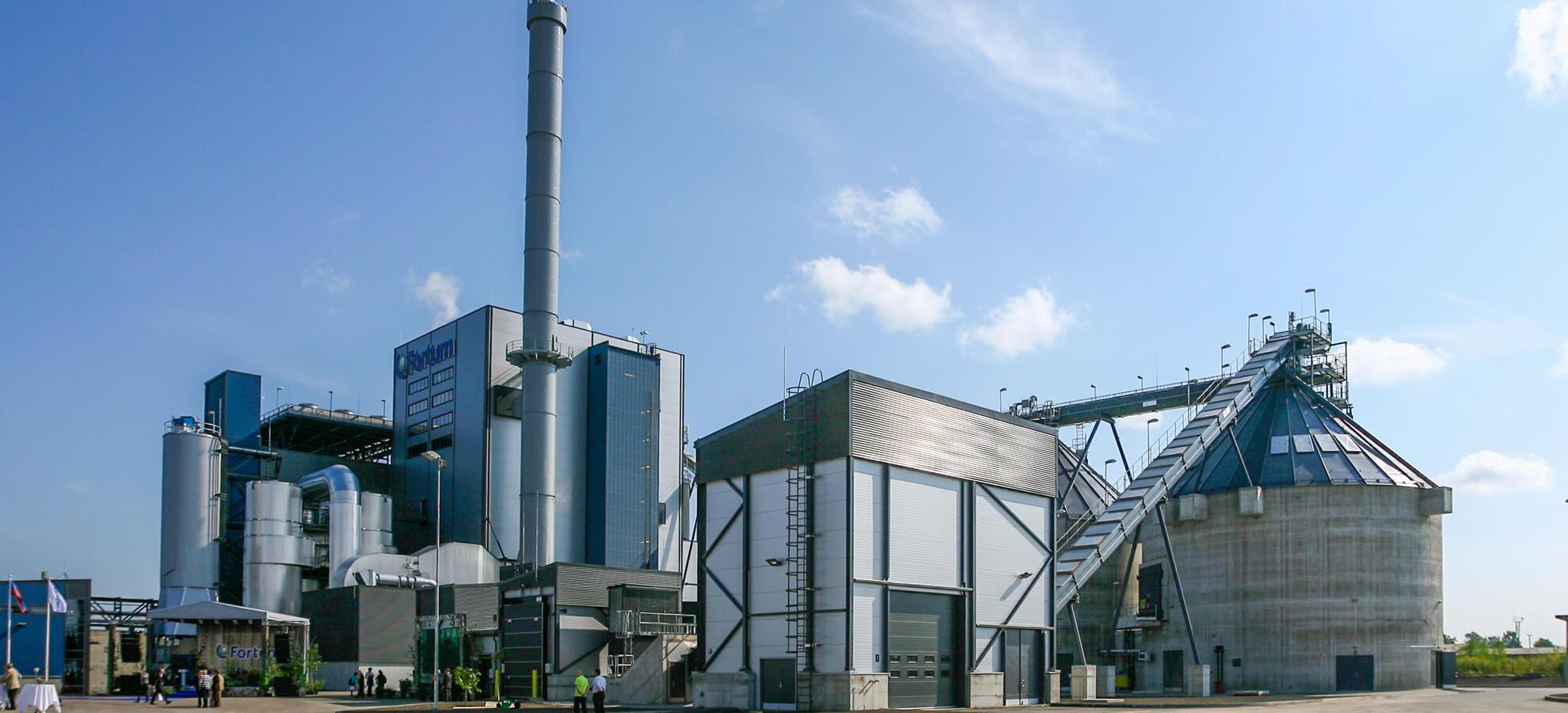Jelgava - power plant in Latvia   Fortum