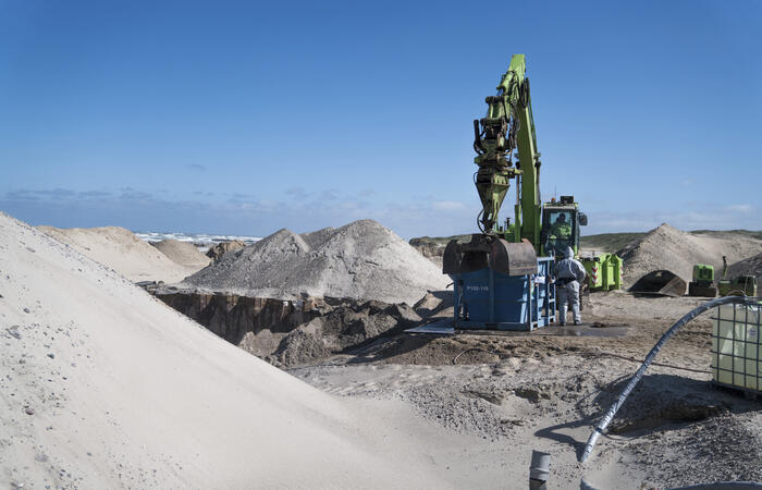 Fortum piloting polluted sand treatment in Denmark